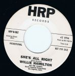 WILLIE HAMILTON SHES ALL RIGHT HRP DEMO